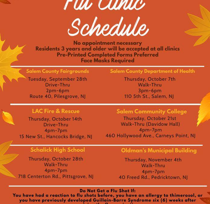 Free Flu Shot Clinics